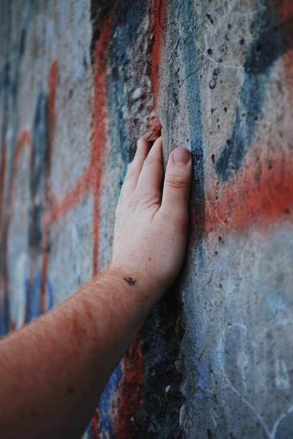 Berlin Wall by Blake Guidry via Unsplash