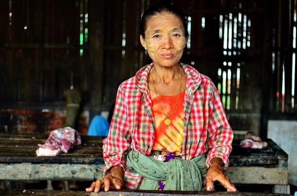 Burmese Lady in Mandalay