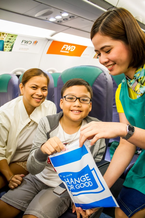 Cebu Pacific expands Change for Good initiative to Clark hub