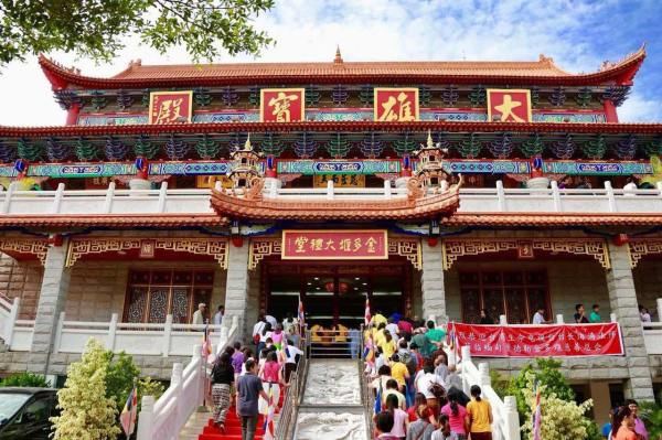 Jin Taw Yan Buddhist Temple photo via FB Page