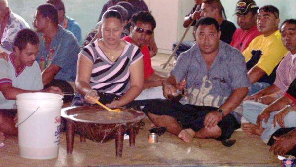 Kava Ceremony by Taimi o Tonga via Wikipedia CC