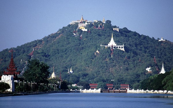 Mandalay Hill by Stefan Fussan via Wikipedia CC