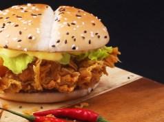 McDo McSpicy 2018 Burgers
