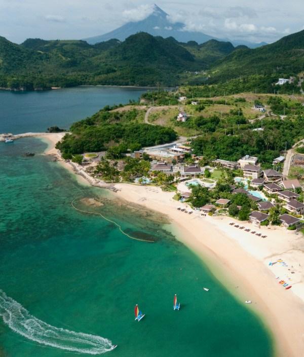 Misibis Bay Resort Aerial Shot