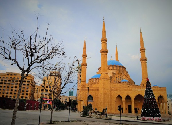 Mohammad Al-Amin Mosque in Beirut