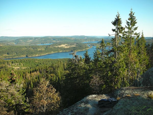Nordmarka Wilderness Area by Sondrekv via Wikipedia