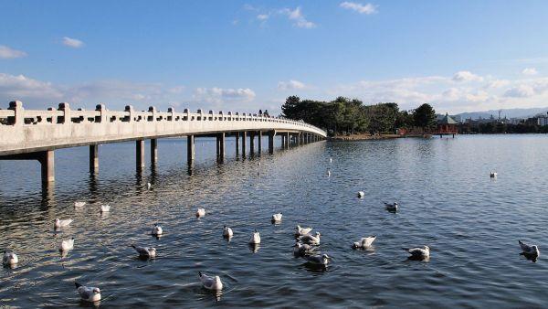 Ohori Park photo via Wikipedia CC