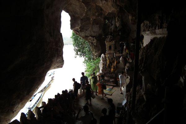 Pak Ou Caves photo via Wikipedia CC