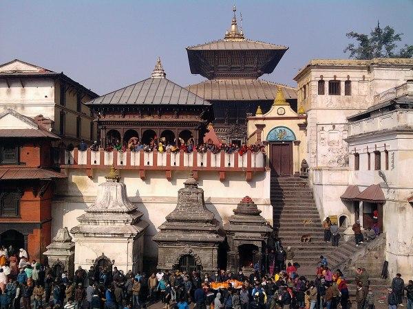 Pashupatinath Temple by Pravash Raj via Wikipedia CC