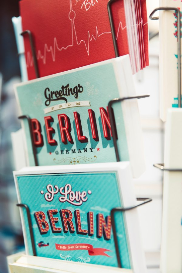 Postcard from Berlin by Markus Spiske via unsplash