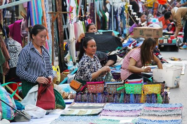 Souvenirs at Luang Prabang Night Market