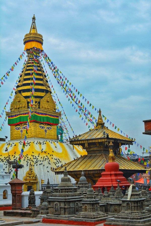 Swayambhunath Temple by Bikalpa Pokhrel via Unsplash