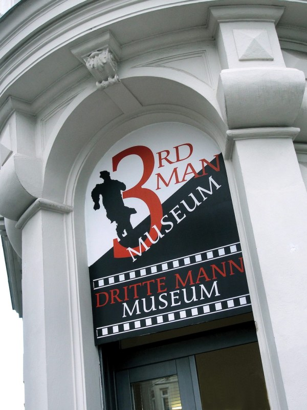 Third Man Museum by Gstrassg via Wikipedia CC
