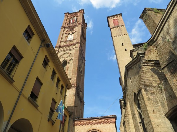 leaning towers of Bologna