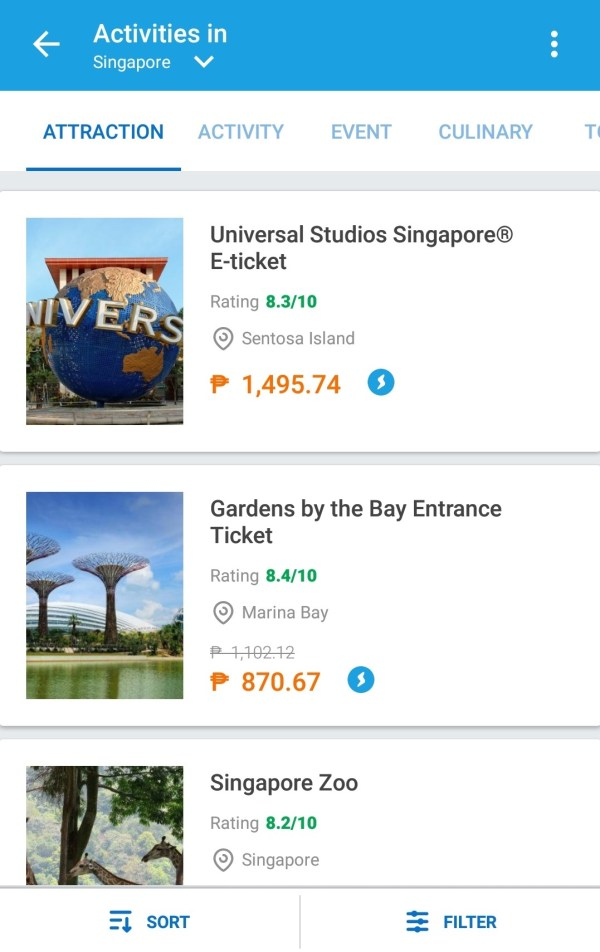 Book International Attractions via Traveloka