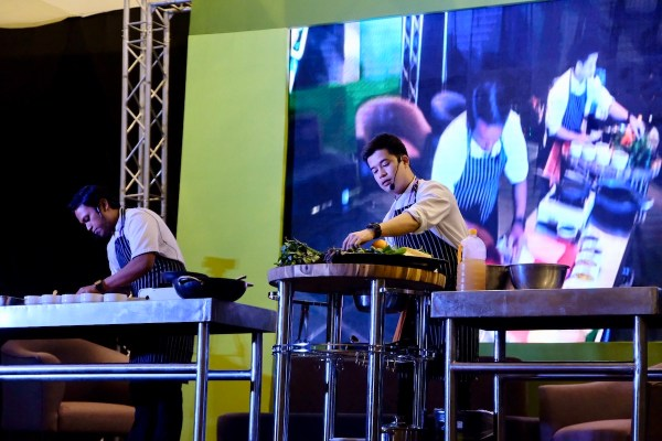 Chef Raphael Cristobal and Chef Jorn Fonseca of Purple Yam