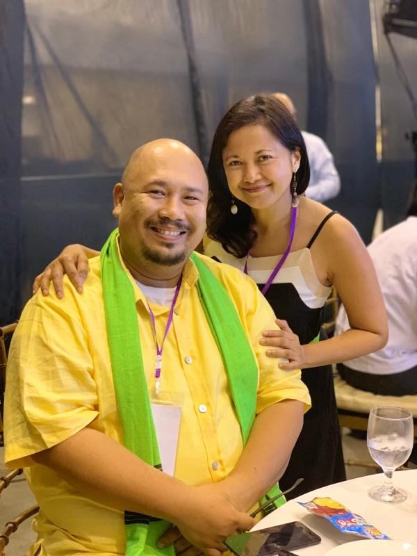 Chef Tatung Sarthou and Clang Garcia