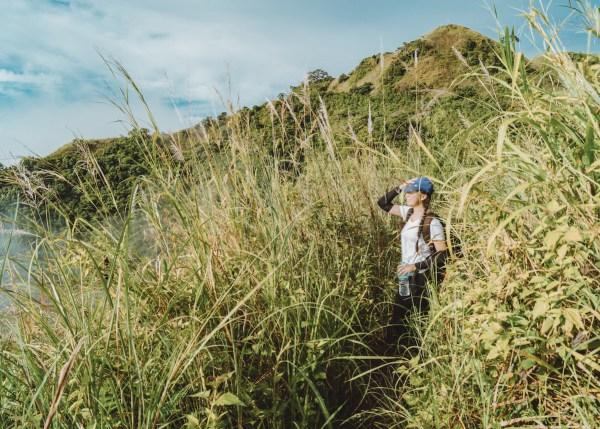 Cogon grass trail shot by Alben Joseph Balinong