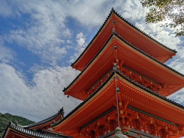 Colorful Structures at Kiyomizu-dera Temple