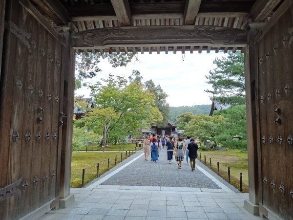Kinkaku-ji gate