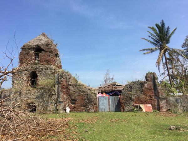 Nassiping Church Ruins photo via St Catherine of Alexandria Parish FB