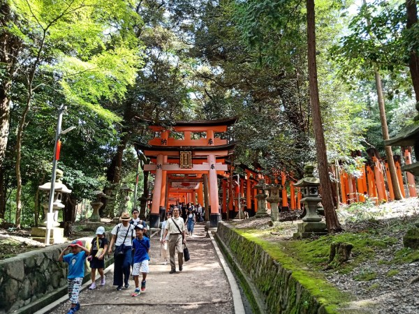 Near the Torii Gates