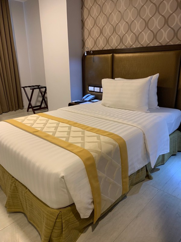 One Central Hotel Bedroom