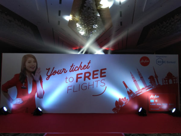 AirAsia Credit Card launching event
