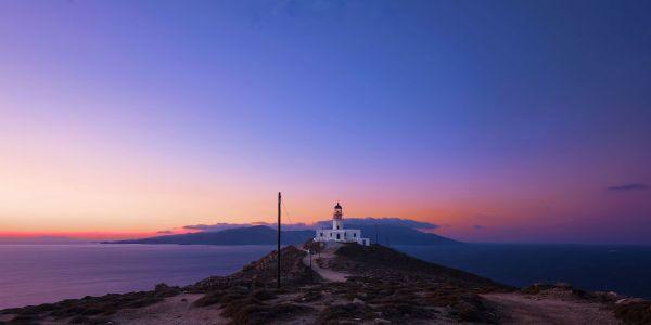 Armenistis Lighthouse by Mateus Pabst via Wikipedia CC
