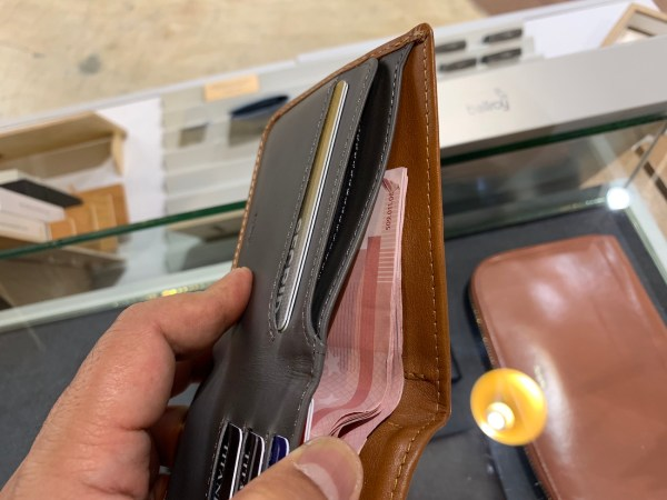 Bellroy Slim Leather RFID Wallet with more space for paper bills
