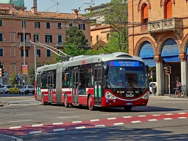 Bologna Public Transport by Pieye Trains via Wikipedia CC