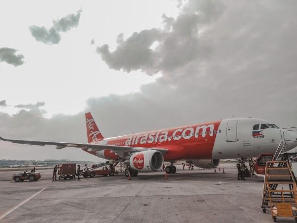 Brand-new AirAsia Airbus A320