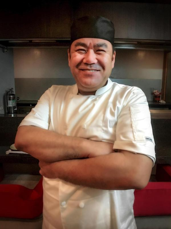 Chef Keita whips up wonders in the kitchen!