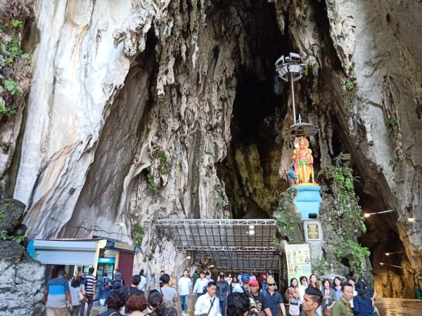 Entrance to the Temple Cave