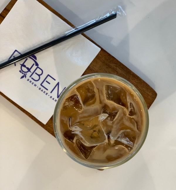 Iced Coffee at Ruben