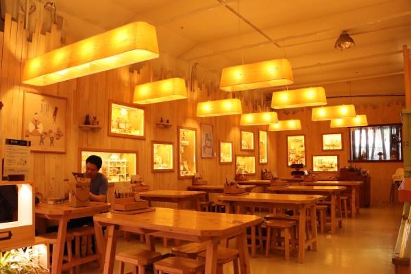 Inside Wooderful Life museum