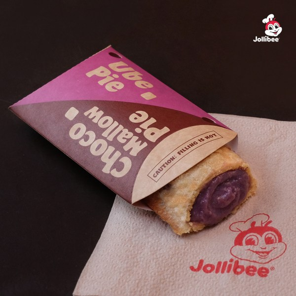 Jollibee Ube Pie is Back