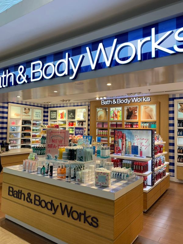 Beauty Products Section at DFP