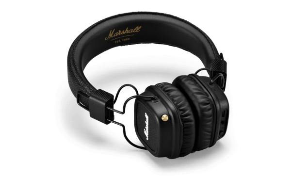 Major II Bluetooth Black Headphones