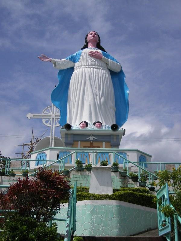 Our Lady of Assumption Shrine photo by Mark Weber via Wikipedia CC