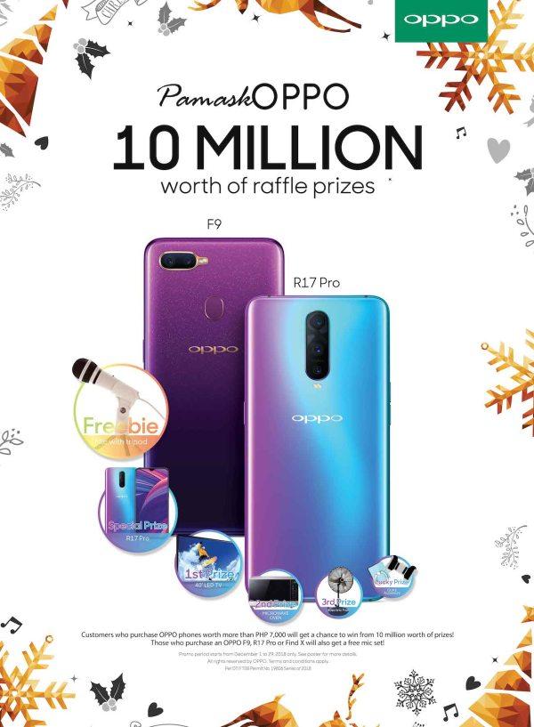 PamaskOPPO OPPO Smartphones Raffle Promo