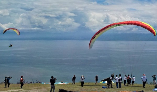 Paragliding Fun Fly in Maasim