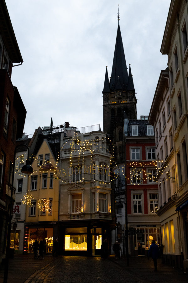 Aachen Old town entrance