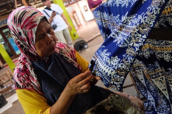 Batik Maker in Yogyakarta