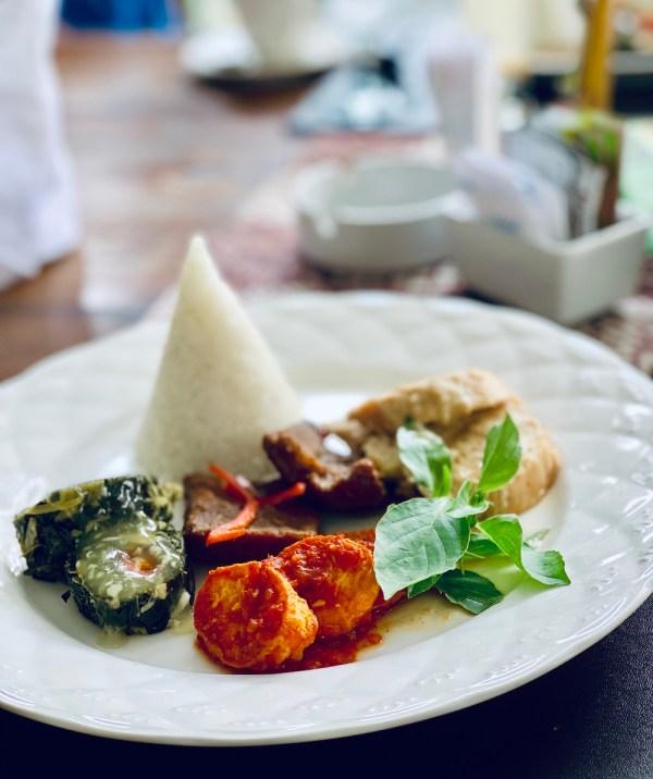 Bela Raos Kraton Yogyakarta Lunch