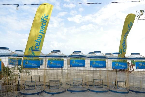 Cebu Pacific Juan Effect receptacles