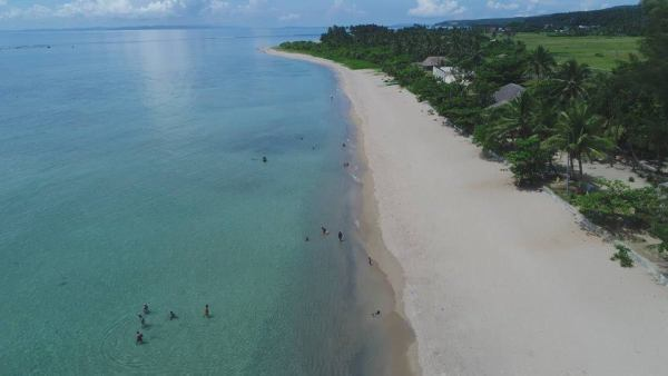 Dancalan Beach in Bulusan by Philip Bartilet via FB