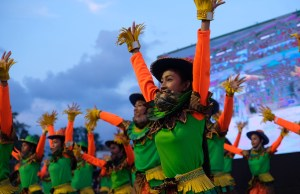 Dancing Scarecrows in Isabela Philippines