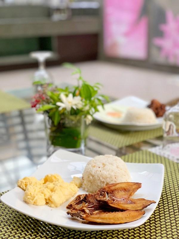 Danggit Lamayo Breakfast
