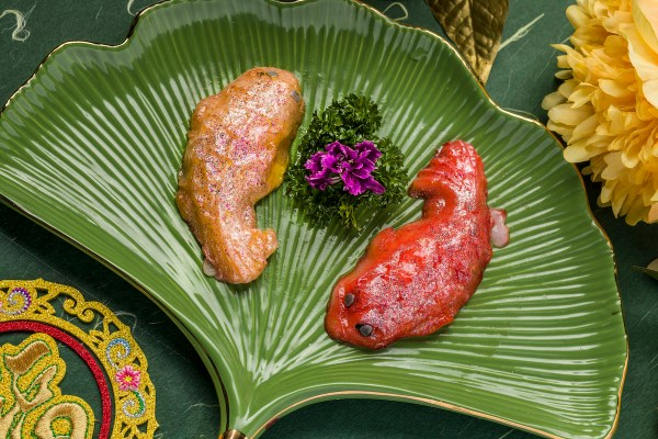Fish-shaped Cuttlefish Paste